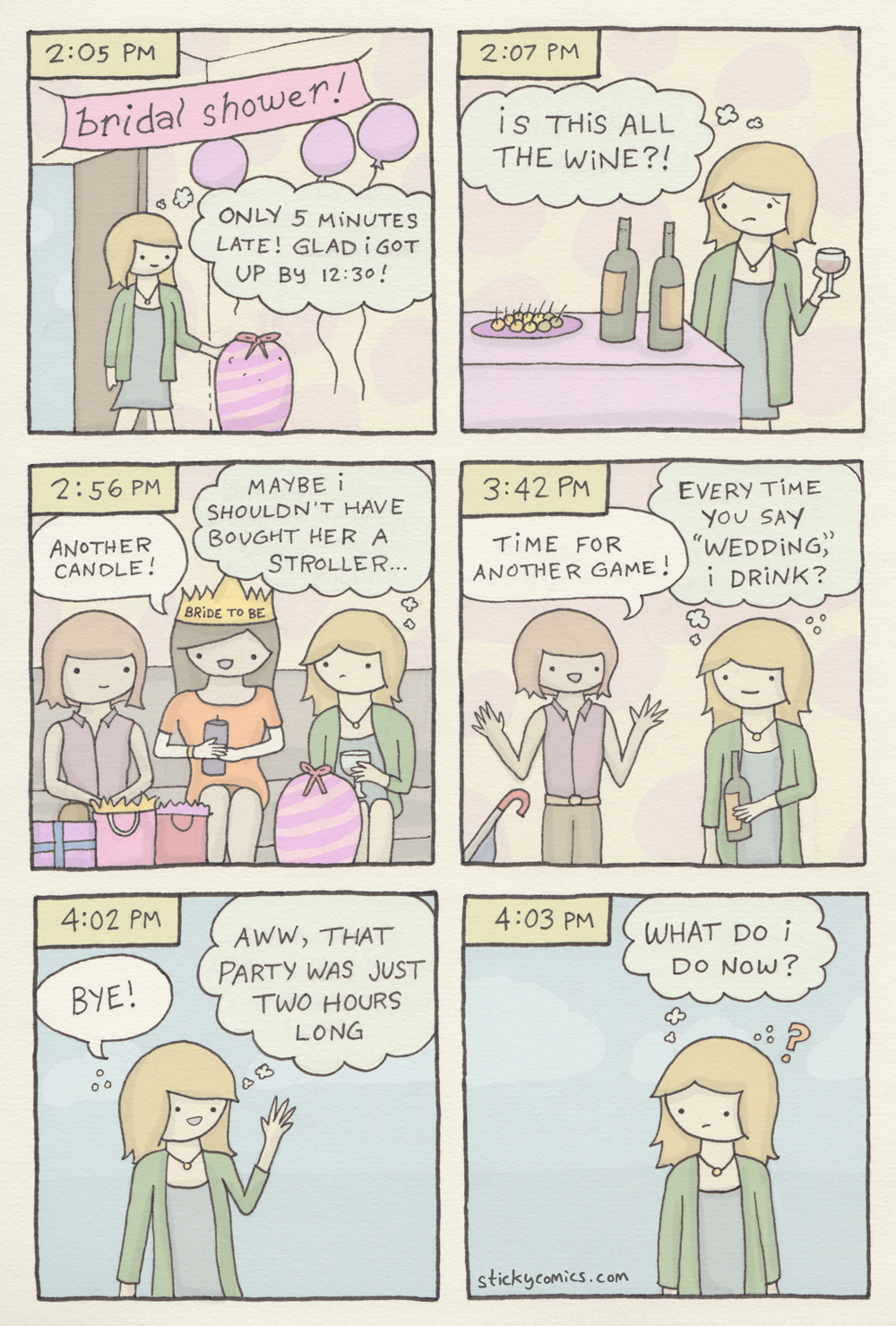 bridal shower experience