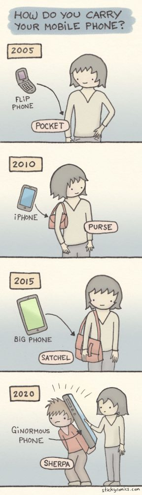 How do you carry your mobile phone?