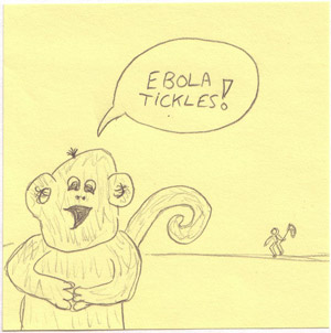 ebola monkey