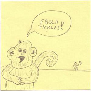 ebola monkey