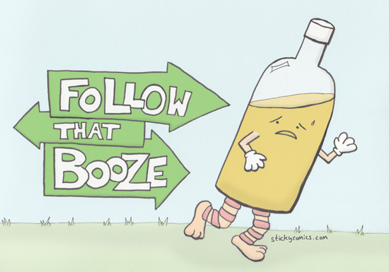 Follow That Booze