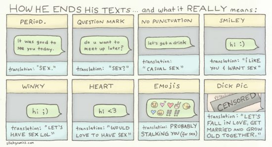 learn how to text like a single dude!