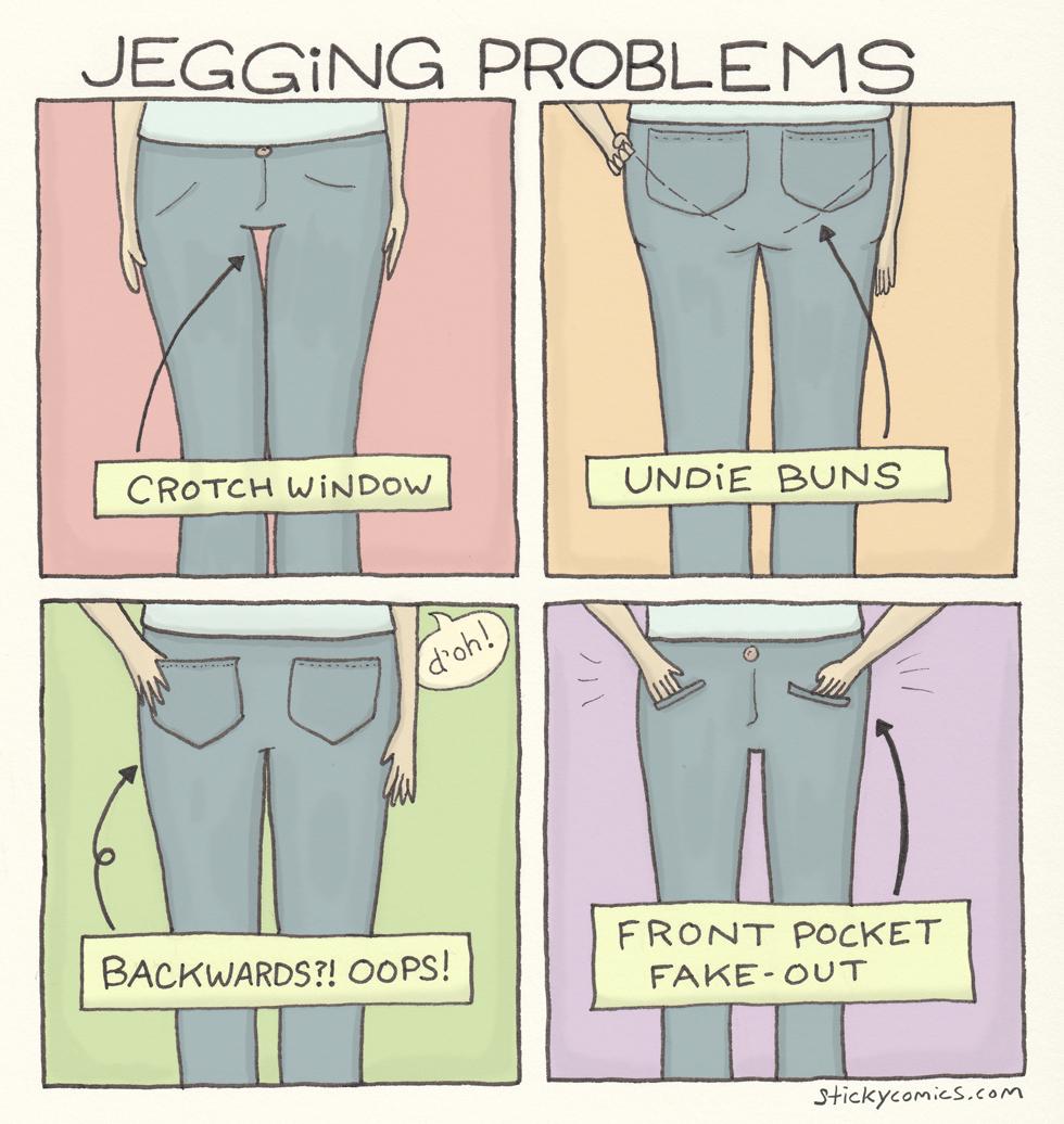 Jegging Problems