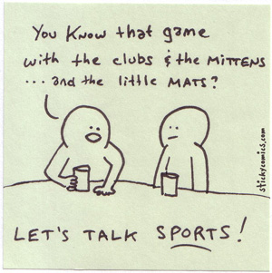 let's talk sports - baseball