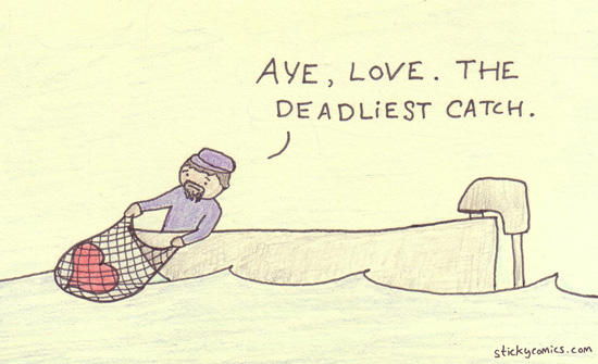 love is the deadliest catch