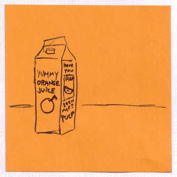orange juice missing pulp