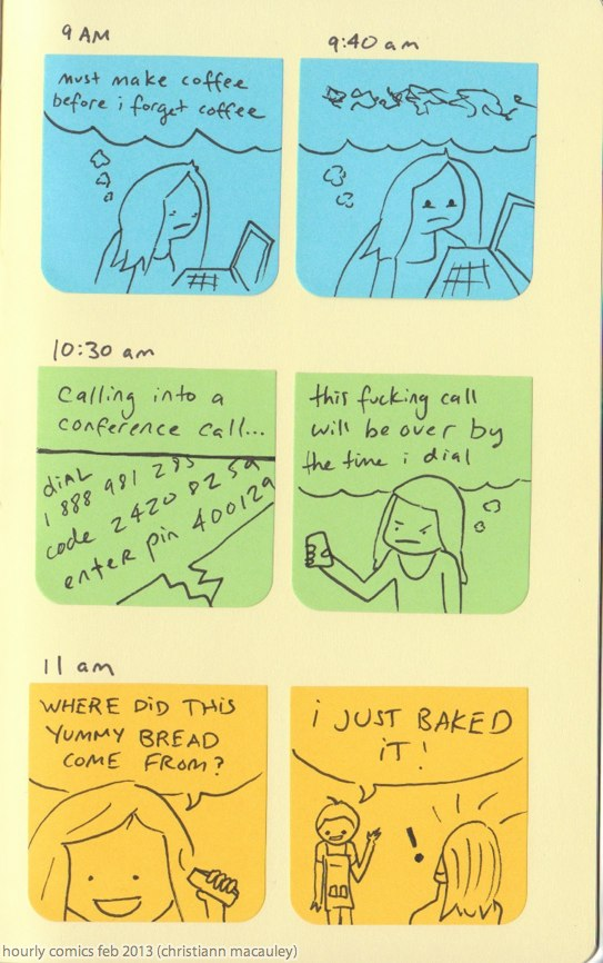hourly comics part 1