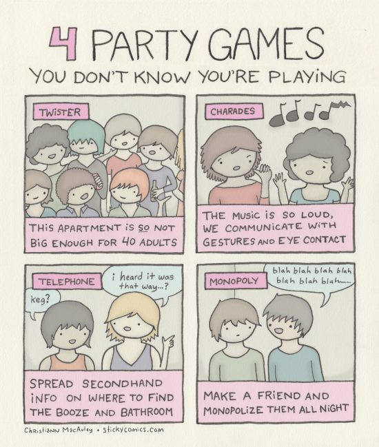 party games you dont know youre playing