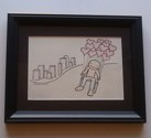 risky endeavor framed drawing on etsy