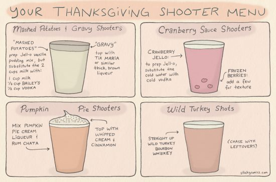 thanksgiving shooters