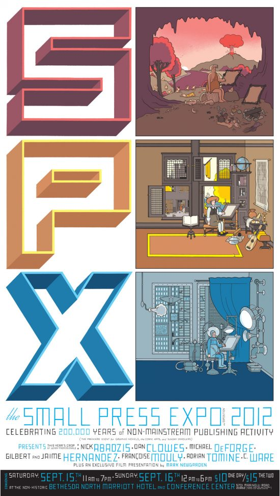 Small Press Expo (SPX) in the DC area