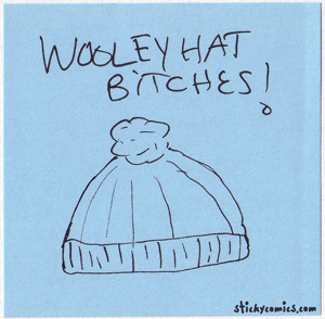 wooley hat