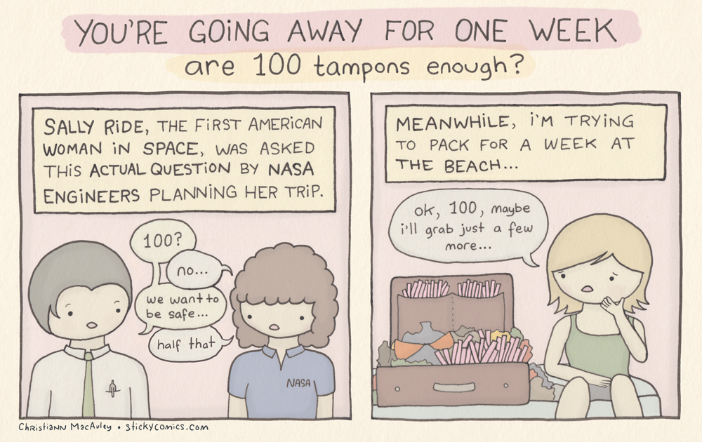 100 tampons