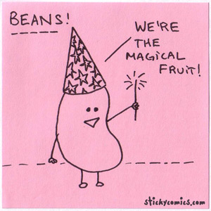 beans, the magical fruit