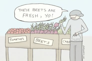 """We got the beet!"""