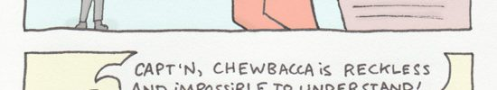 This explains Chewbacca's voice. WRRRRAWW.
