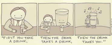 F. Scott Fitzgerald knew how to treat a drink