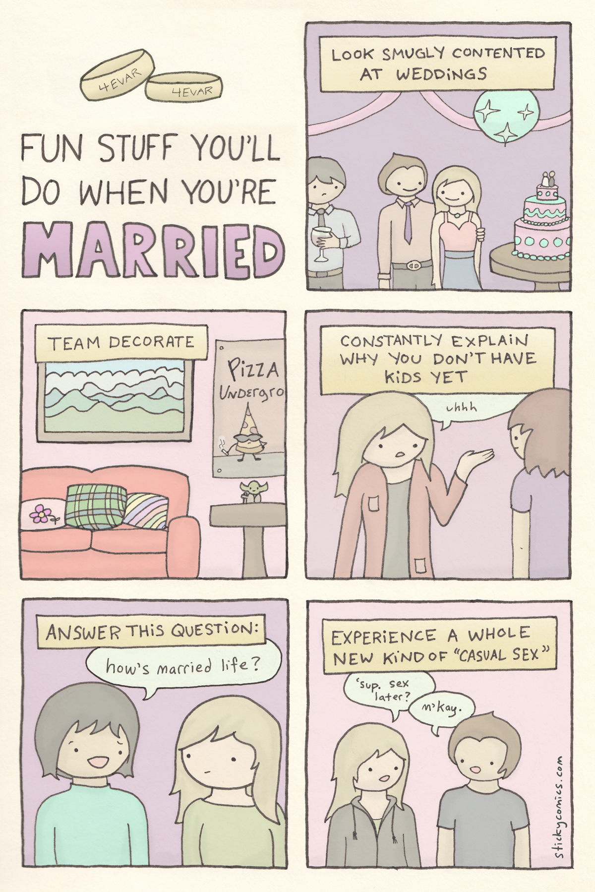when you're married