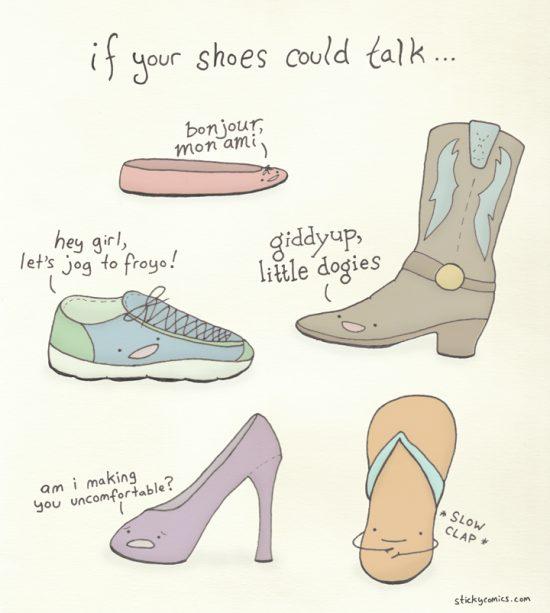 Flip flops are my BFFs