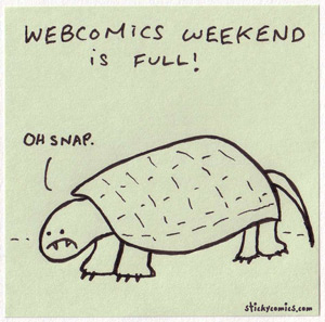 webcomics weekend oh snap turtle