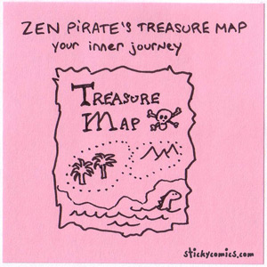 zen pirate's inner journey treasure map